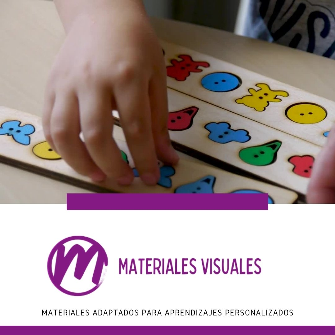 materiales visuales autismo
